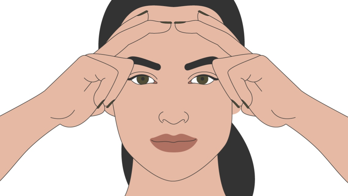 An illustration of the forehead smoother.